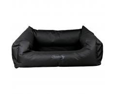 TRIXIE Cama para perro Samoa Sky rectangular negra 65x50 cm 28370