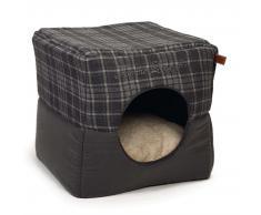 Designed by Lotte Cama cubo de gato Lovely 40x40x40 cm gris 706713