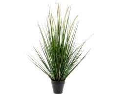 Emerald Emeral Planta hierba artificial alopecurus verde 120 cm 418166