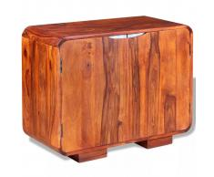 vidaXL Aparador de madera maciza de sheesham 75x35x60 cm