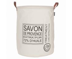 Sealskin Cesto para ropa sucia Savon de Provence crema 60 L 361752065