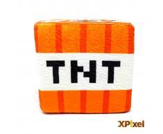 Xpixel Cojin Pixel Cubo de Peluche - Explosivo TNT