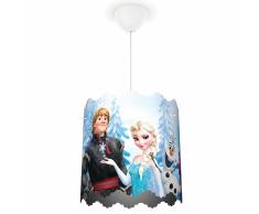 Philips Lámpara colgante de Frozen Disney 23 W azul 717510116