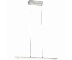 GLOBO Lámpara LED colgante LIGURIA I aluminio y vidrio 67819