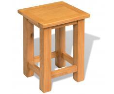 vidaXL Mesa auxiliar madera roble 27x24x37 cm
