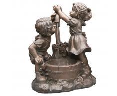 Ubbink Set fuente y estanque para el jardin , modelo Memphis 1387059