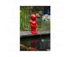 Ubbink Fuente para estanques niño Diablo peq. blanca 45,5 cm 1386128