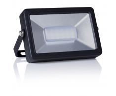 SMARTWARES Foco de luz LED 10 W negro FL1-B10B