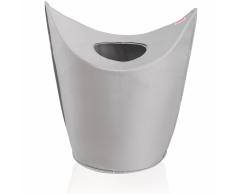Leifheit Cesto para la ropa 60x35x80 cm gris 80022