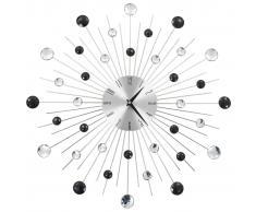 vidaXL Reloj de pared con movimiento de cuarzo diseño moderno 50 cm