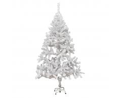 vidaXL Árbol de navidad artificial con soporte 180 cm 620 ramas
