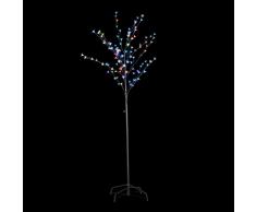 vidaXL Árbol De Flor Cerezo Del LED Luz Multicolor 180cm