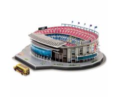 Nanostad Juego puzzle 3D Camp Nou 100 piezas 38x42,8x12,5cm PUZZ180050