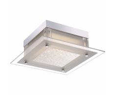 GLOBO Lámpara LED de techo LEAH vidrio 49310