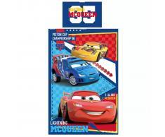 Disney Juego de funda edredón Cars Piston Cup 200x140 cm DEKB320050