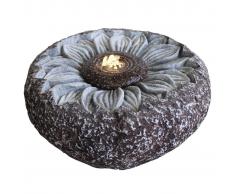 Velda Fuente de jardín girasol gris 850810