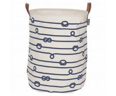 Sealskin Cesto para la ropa sucia Rope crema 60 L 362282022