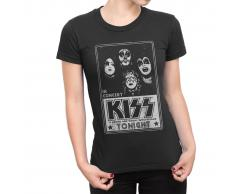 Kiss - Concert poster Girlie T-SHIRT