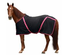 Kerbl Manta de caballo polar RugBe Classic negro 145 cm 328687