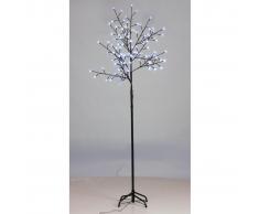 vidaXL Luces De LED Parpadeas Árbol Azul Interior Y Exterior 210cm