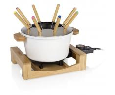 Princess Set de fondue Pure blanco 800 W