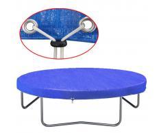vidaXL Funda para cama elástica PE 300 cm 90g/m²
