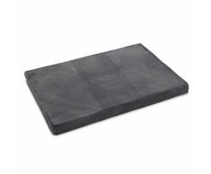Beeztees Cama para perro espuma viscoelástica gris 100x70x8 cm 707034