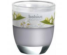 Bolsius Velas perfumadas Lirio de Valle blanca 6 unidades 103626150303
