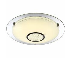 GLOBO Lámpara LED de techo AMADA vidrio 48241