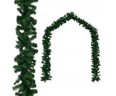 vidaXL Guirnalda de navidad PVC 10 m