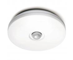 Steinel Lámpara con sensor de movimiento para exterior,blanca, DL 850S