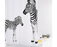 RIDDER Cortina de ducha Zebra tela 180x200 cm 42311