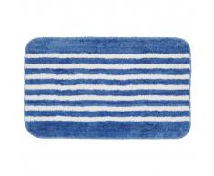 Sealskin Alfombra de baño azul con rayas 50 x 80 cm, 294385424