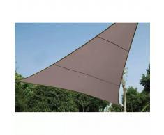 Perel Toldo de vela triangular 5 m gris topo GSS3500TA