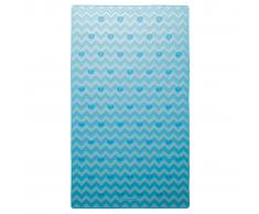 Sealskin Alfombrilla de seguridad baño Leisure 40x70 cm azul 315244624