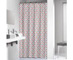 Sealskin cortina de ducha 180 cm modelo Diamonds 235201346 (Coral)