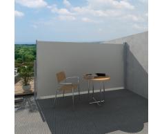 vidaXL Toldo lateral de jardín o terraza 160 x 300 cm crema