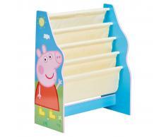 Peppa Pig Estantería infantil 51x23x60 cm azul WORL213012