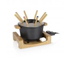 Princess Set de fondue Pure negro 800 W