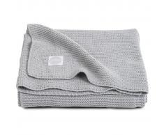 Jollein Manta de tejido lavado a piedra 100x150 cm gris 516-522-65105