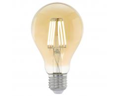 EGLO Bombilla LED de estilo vintage E27 A75 11555, Color ámbar