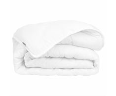 vidaXL Edredón/colcha para todas las estaciones 135x200 cm blanco