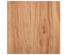 vidaXL Lamas para suelo autoadhesivas PVC color madera claro 5,11 m²