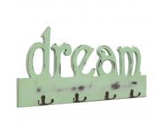 vidaXL Perchero de pared DREAM 50x23 cm