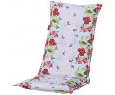 Madison Cojín para silla de respaldo alto Lilly Aqua 123x50cm PHOSC418