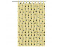 Minions Disney Cortina infantil 250x140 cm amarilla ASSO220008