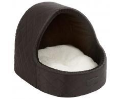Kerbl Cama cubo para perro Charlotte 35x33x32 cm negro 80340