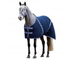 Kerbl Manta Foro Polar para Caballo RugBe Classic Color Azul 125 cm 323635