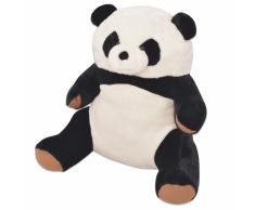 vidaXL Oso panda de peluche XXL 80 cm