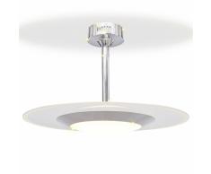 vidaXL Lámpara de techo colgante redonda para el con luces LED
